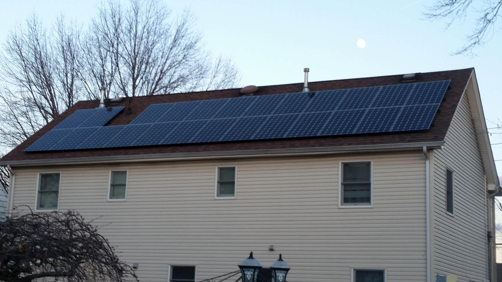 Staten Island, NY solar installation
